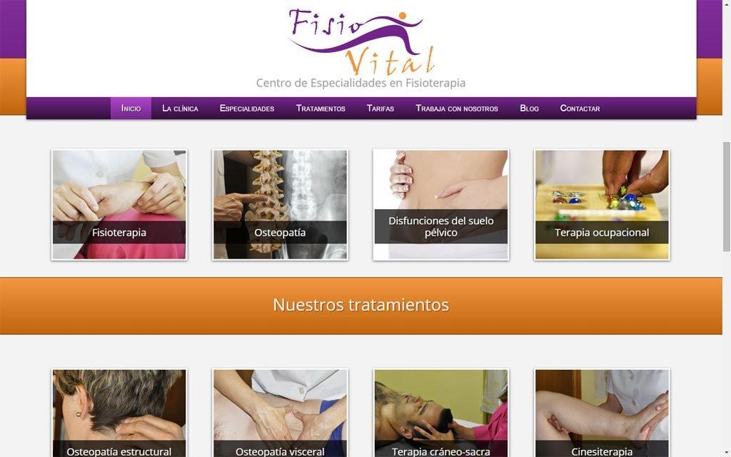 pagina web fisioterapia