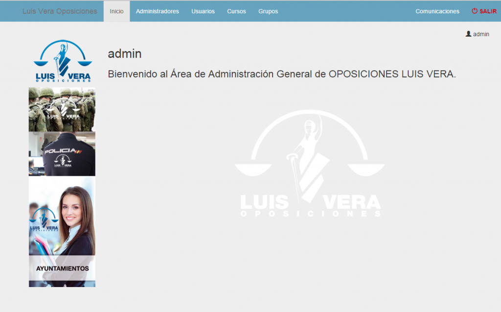 aplicacion-web-intranet-oposiciones-luisvera