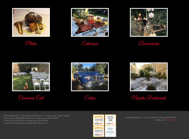 pagina web catering benidorm