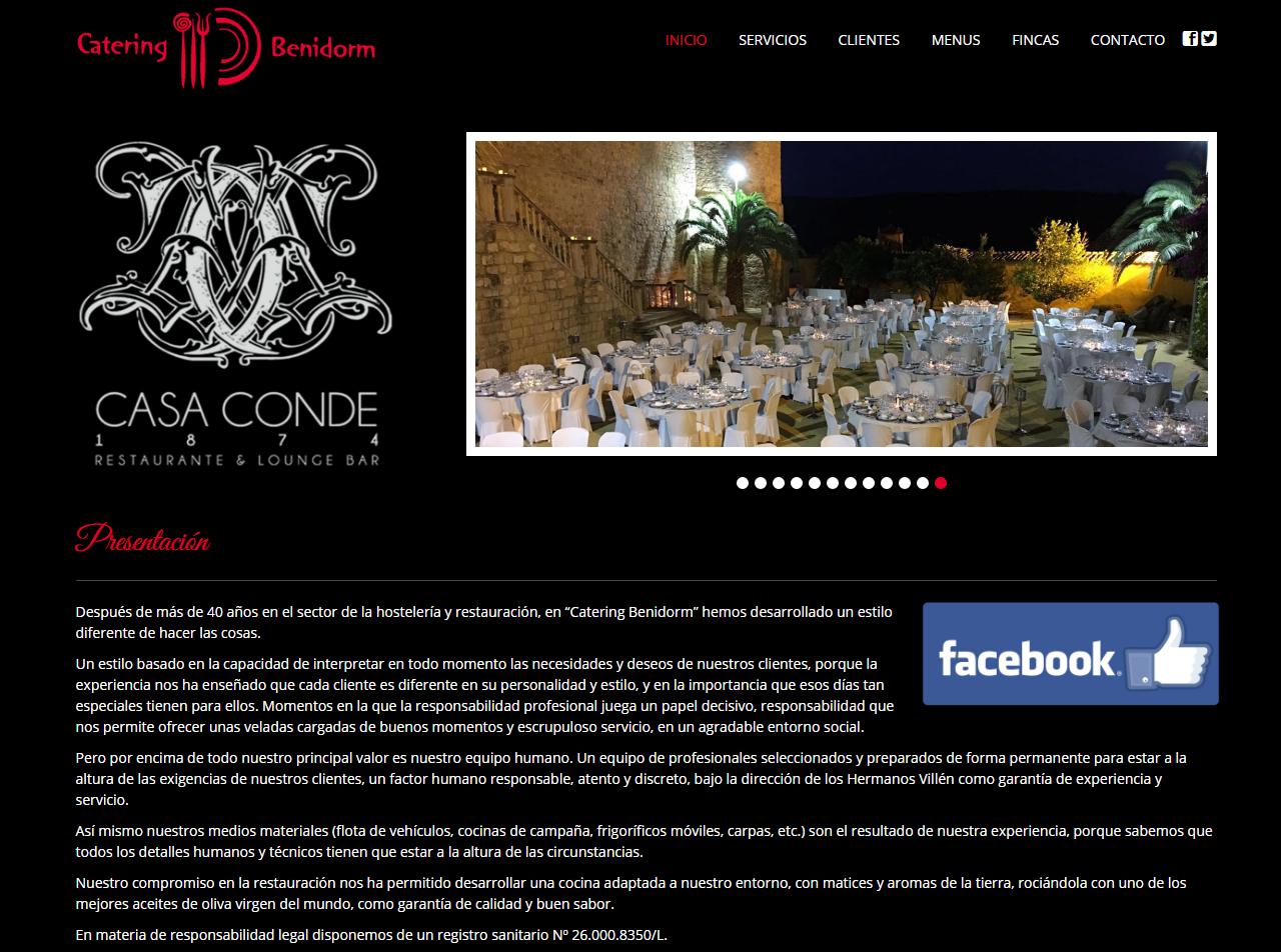 pagina web restaurante casaconde linares