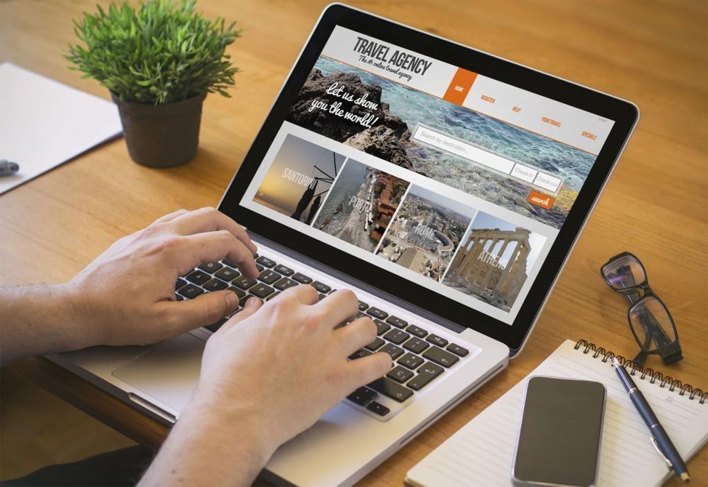 diseño pagina web para agencia de viajes