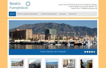 Diseño web para alquiler de apartamentos en Fuengirola (Málaga)