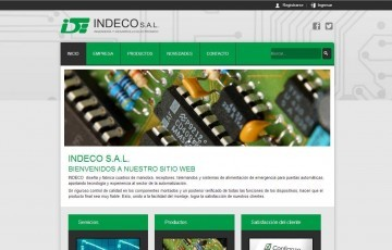 Diseño de página web Noche Mágica Dorada