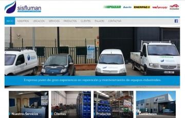 diseño web de Sisfluman