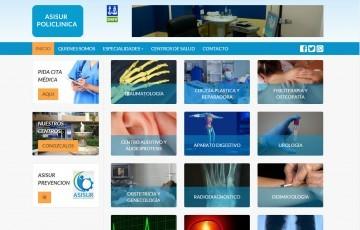 diseño web responsive policlinica Jaén