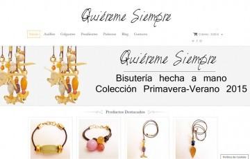 diseño de tienda online bisuteria Jaén Linares