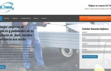 diseño web empresa de limpiezas y pulimentos Jaén