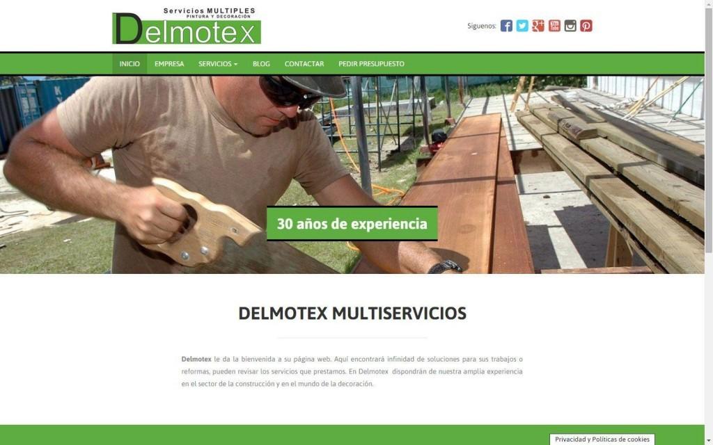 diseño pagina web empresa multiservicios Linares Jaén