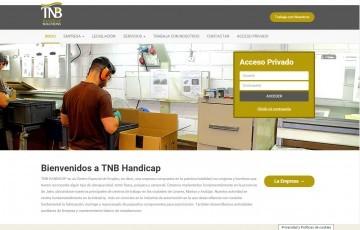 diseño web centro de empleo Jaen