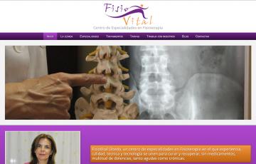 diseño web clinica de fisioterapia en Jaén