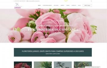 diseño de tienda online floristerias jurado Jaén