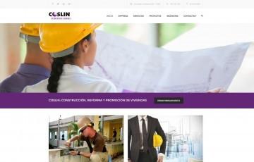 desarrollo pagina web constructora viviendas Jaén