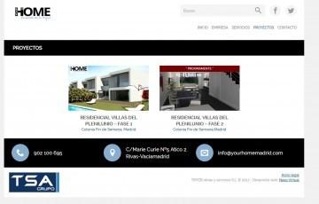 diseño pagina web Madrid