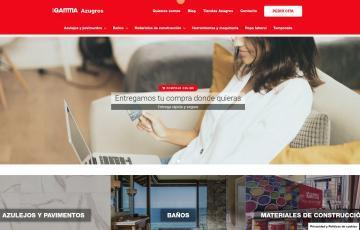 diseño web en Jaén para Gamma Azugres
