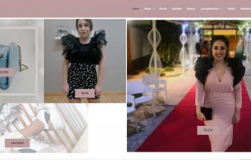 diseño de tienda online de noda y ropa de mujer en Jaén