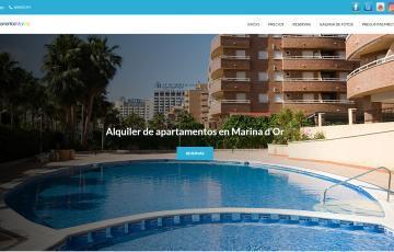 diseno web alquiler apartamentos marina dor
