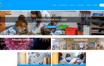 diseño web para colegio
