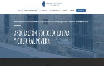 diseño web ASOCIACIÓN SOCIOEDUCATIVA Y CULTURAL POVEDA