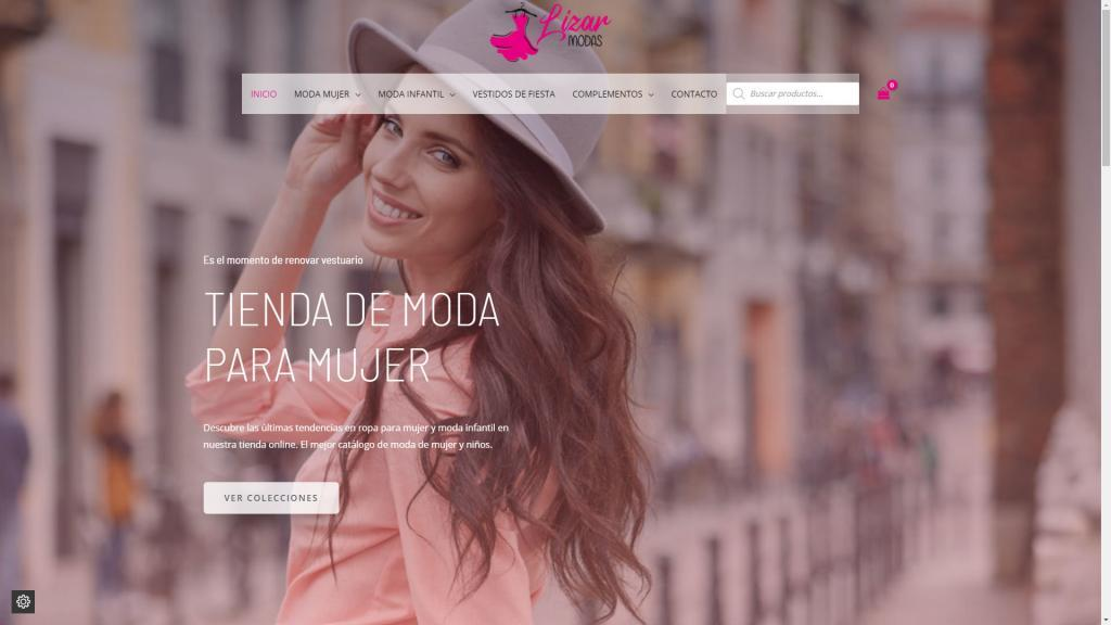 diseno tienda online moda mujer